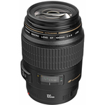 Canon Telephoto EF 100mm f/2.8 USM Macro Autofocus Lens