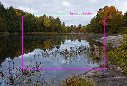 basic photography information - crop factor