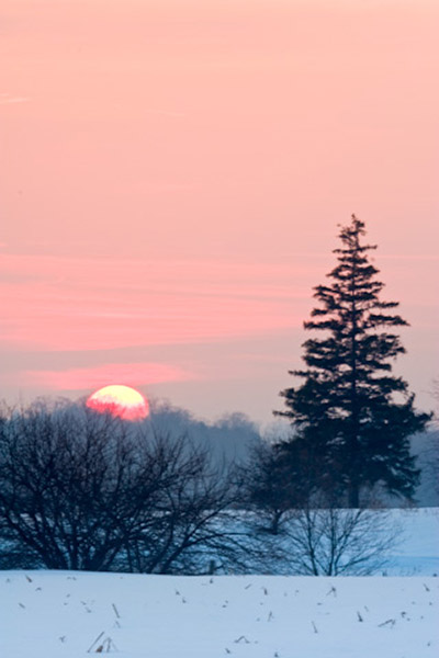 telephoto sunset photography