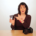 Julie explains the graduated neutral density filter